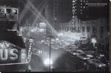 Hollywood Boulevard Bedruckte aufgespannte Leinwand
