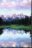 Grand Teton Trykk på strukket lerret av Christopher Talbot Frank