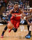 Mar 18, 2014, Washington Wizards vs Sacramento Kings - John Wall Photographie par Garrett Ellwood