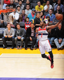 Mar 21, 2014, Washington Wizards vs Los Angeles Lakers - John Wall Photographie par Andrew Bernstein