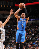 Dec 21, 2013, Oklahoma City Thunder vs San Antonio Spurs - Russell Westbrook Photographie par Bill Baptist