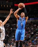 Dec 21, 2013, Oklahoma City Thunder vs San Antonio Spurs - Russell Westbrook Foto af Bill Baptist
