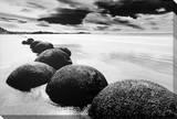 Rochas na Praia Impressão em tela esticada