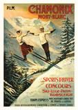 Chamonix Posters por Francisco Tamagno