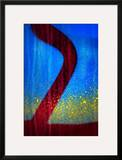 Blue Abstract 2 Framed Photographic Print by Ursula Abresch