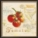 Tuscan Tomato Framed Giclee Print by Angela Staehling