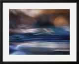 Coastal Dawn Framed Giclee Print by Ursula Abresch