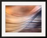 Curtain Framed Giclee Print by Ursula Abresch