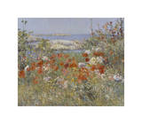 Celia Thaxter's Garden, Isles of Shoals, Maine, 1890 Giclee Print by Childe Hassam