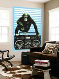 Monkey Boom Box Poster géant par  Steez