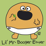Lil Mr Booger Eater Gicléetryck av Todd Goldman