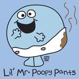 Lil Mr Poopy Pants Gicléetryck av Todd Goldman