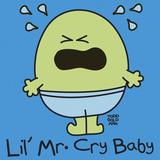 Lil Mr Cry Baby Gicléetryck av Todd Goldman