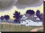 Baker County Impressão em tela esticada por William Buffett