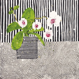 Orchid Mosaic I Giclée-tryk af Susan Brown