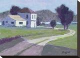 Teague County Impressão em tela esticada por William Buffett