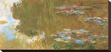 The Water Lily Pond, c. 1917-19 Stretched Canvas Print by Claude Monet