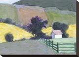 Moore County Impressão em tela esticada por William Buffett