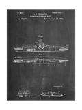 Submarine Vessel Patent Print