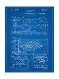 Pinball Machine Patent Posters