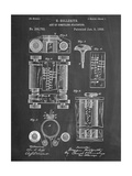 First Computer Patent 1889 Plakater