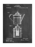 Coffee Percolator Patent Pósters