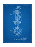 Football Patent 1923 Plakater