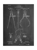 Caliper And Divider Tool Patent Posters