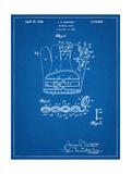 Baseball Glove Patent 1937 Arte