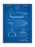 Hunting Duck Decoy Patent Print