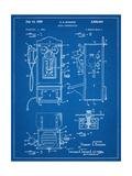 1950's Telephone Patent Prints