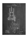 Gas Motor Engine Patent Posters