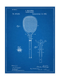 Tennis Racket Patent Poster