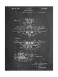 Sikorsky Amphibian Aircraft 1929 Patent Pósters