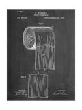 Toilet Paper Patent Affiches