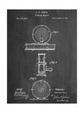 Fishing Reel Patent Print