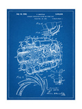 Aircraft Rocket Patent Pósters