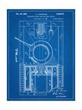 World War II Military Tank Patent Láminas