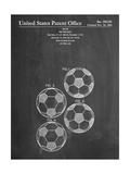 Soccer Ball Patent Poster