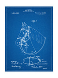 Horse Bridle Patent Posters
