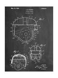 Football Helmet Patent Kunst