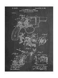 Wesson Pistol Patent Pósters
