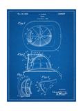 Firemen Helmet Patent Láminas