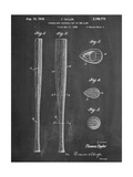Baseball Bat Patent 1938 Julisteet