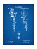 Tattoing Machine Patent 1891 Print