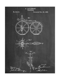 First Bicycle Patent Poster