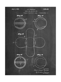 Tennis Ball Patent Prints