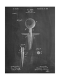 Golf Tee Patent Posters