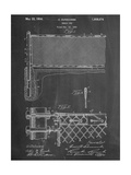 Tennis Net Patent Kunstdrucke