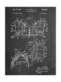Football Shoulder Pads Patent Posters
